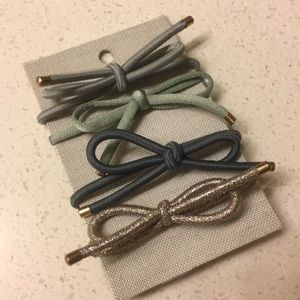Anthropologie Bow Hair Ties